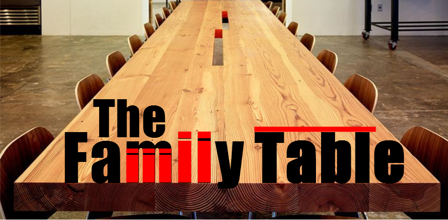 The Family Table Graphic
